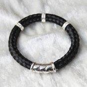Zilveren armband paardenhaar Amore