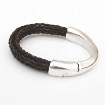 armband paardenhaar indira bruin