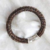 Zilveren armband paardenhaar Suerte